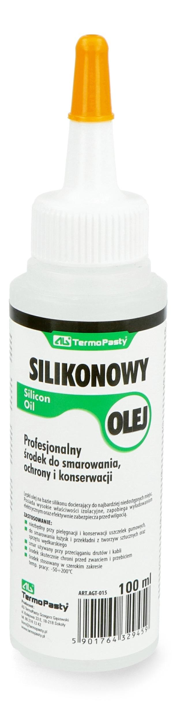 Olej silikonowy oliwiarka