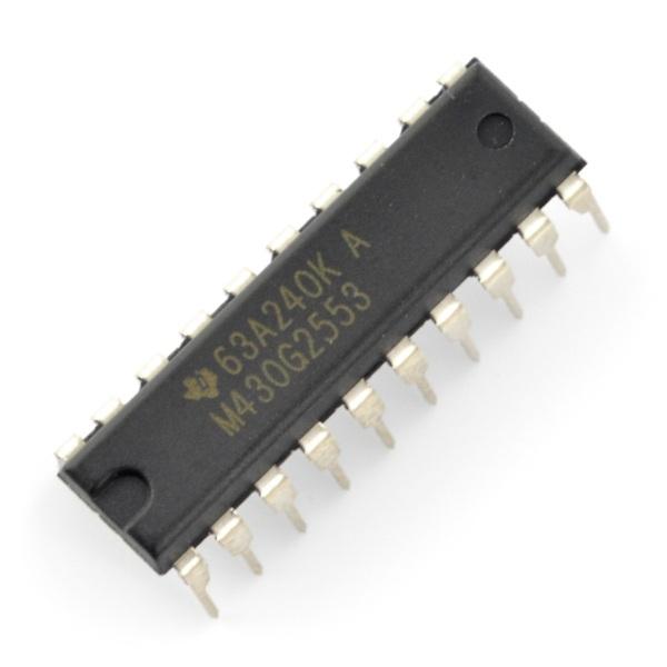Mikrokontroler Texas Instruments - MSP430G2553IN20 DIP