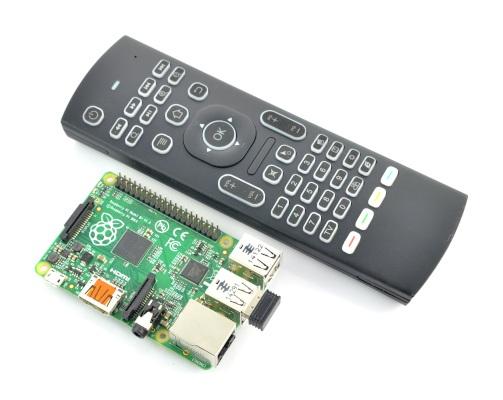 Klawiatura bezprzewodowa MX3 klawiatura + mysz Air Mouse - bezprzewodowa 2,4GHz