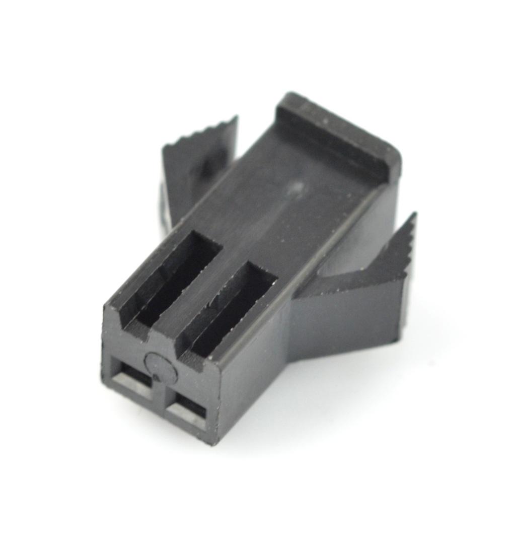 Obudowa gniazda żeńskiego 4-pinowego - raster 2,5mm - 5szt.