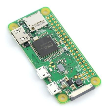 Minikomputer Raspberry Pi Zero W.