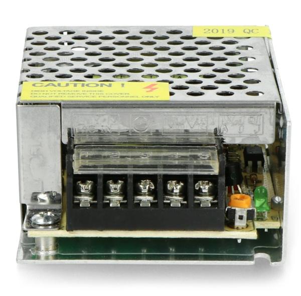 Złącza zasilacza montażowego 12 V 2,1 A