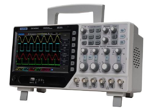 Oscyloskop Hantek DSO-4104C 100MHZ 4 kanały