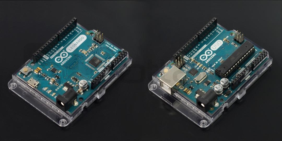 Podstawka do Arduino typu Uno - przezroczysta