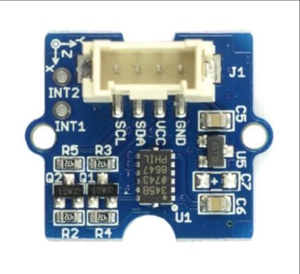 Grove - 3-osiowy cyfrowy akcelerometr ADXL345 - I2C