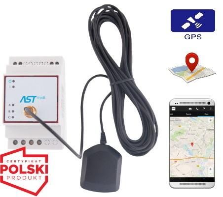 ASTmidi - zegar astronomiczny z GPS i 3 wyjściami