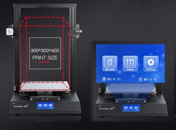 Creality CR-X drukarka 3D z wyświetlaczem