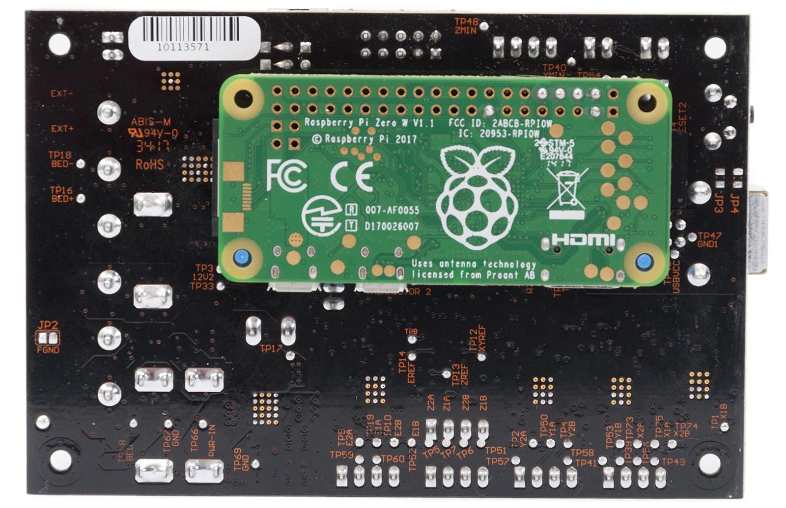 Nowa płyta główna EINSY RAMBo w MK3S wraz z Raspberry Pi Zero