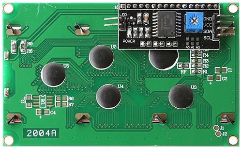 Wyprowadzenia wyświetlacza LCD 4x20 dla Odroid H2