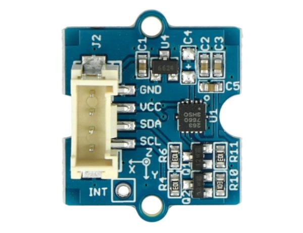 3-osiowy akcelerometr MMA7660FC