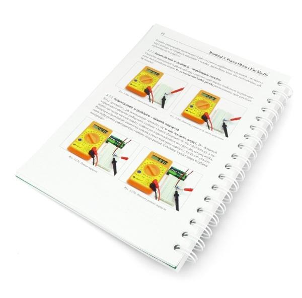 Zawiera przydatne ilustracje i szczegółowy opis elementów.