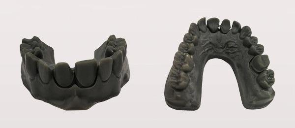 Modele dentystyczne wydrukowane przy pomocy Flashforge Hunter