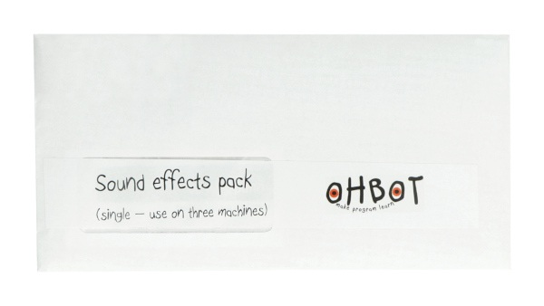 Zestaw efektów dźwiękowych do robota Ohbot