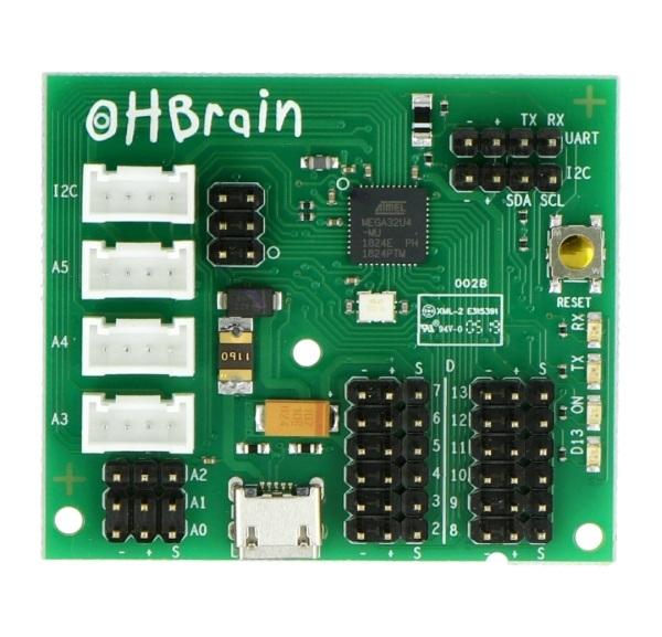 Ohbrain kontroler robota Ohbot