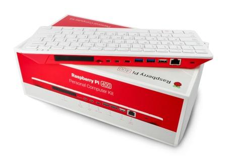 Porty w Raspberry Pi 400