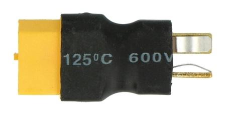 Adapter XT-60 - DEANS męsko-męski scalony MSP