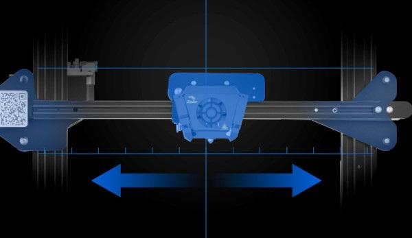 Precyzyjny przesuw elementów drukujących urządzenia