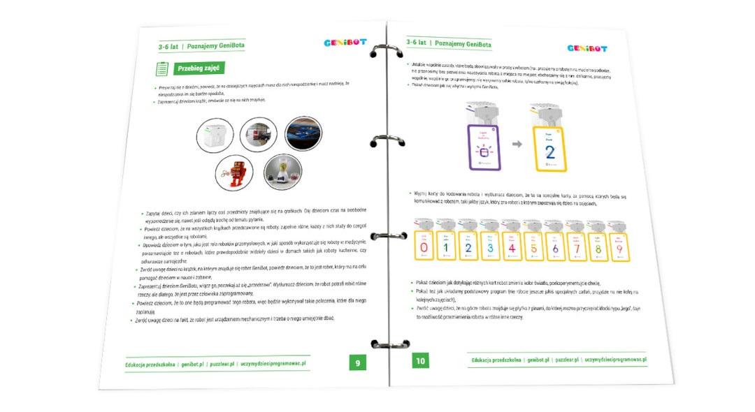 Genibot - Edukacja Przedszkolna z Genibotem - część I