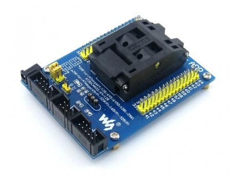 Programator od Waveshare do mikrokontrolerów Atmel.