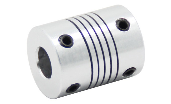 Sprzęgło elastyczne aluminiowe 5 x 8 mm