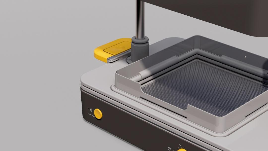 Montaż osłony jest bardzo prosty. Produkt montowany jest na zatrzask, dzięki czemu nie wymaga wykorzystania żadnych dodatkowych elementów oraz narzędzi.