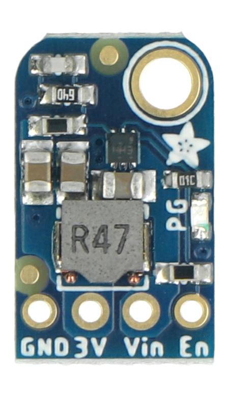 Konwerter napięć wyposażony w układTPS62827.