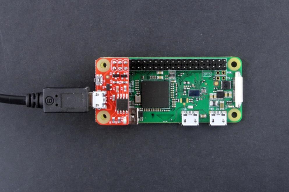 Sposób podłączenia PiWatcher do Raspberry Pi
