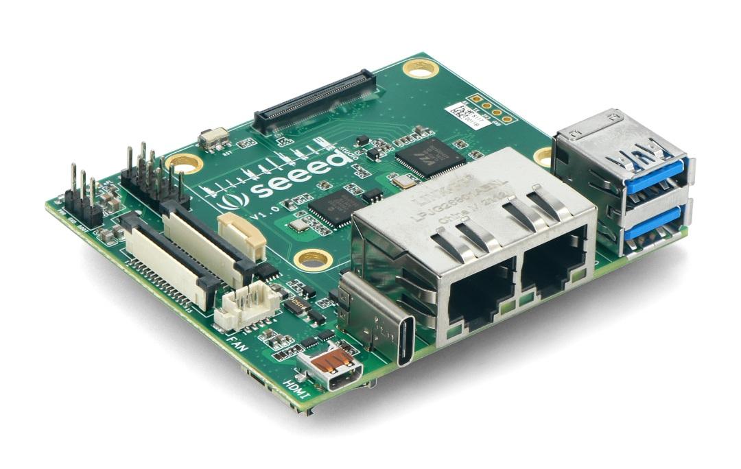Dual Gigabit Ethernet Carrier Board