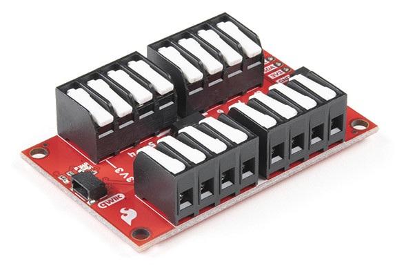 SparkFun Qwiic GPIO - moduł ośmiu dodatkowych pinów GPIO