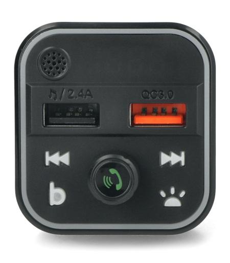 Transmiter samochodowy FM z zestawem głośnomówiącym Blow Bluetooth
