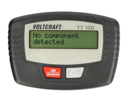 Tester tranzystorów Voltcraft TT100
