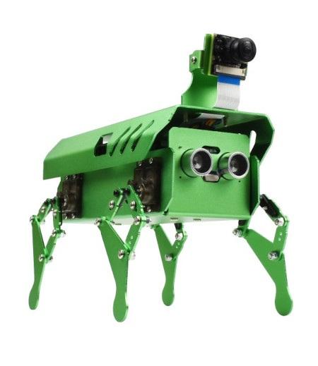 Pippy jest wyposażony w czujnik ultradźwiękowy, który umożliwia omijanie przeszkód.