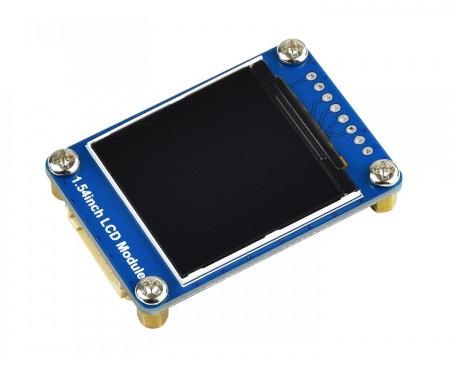 Wyświetlacz wykorzystuje 4-pinowy interfejs komunikacyjny SPI.