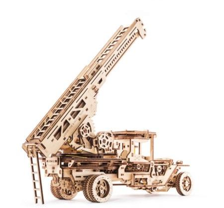 Model straży pożarnejto połączenie wiedzy inżynieryjnej oraz pasji modelarskiej.