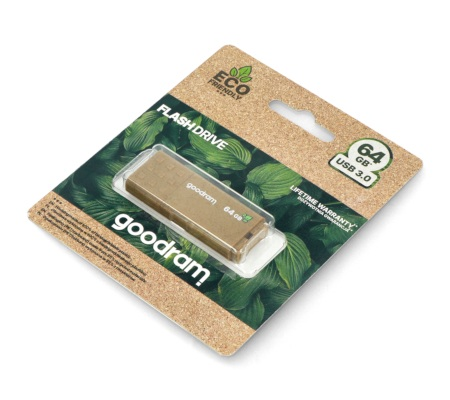 GoodRam Flash Drive - pamięć USB 3.0 Pendrive - UME3 Eco Friendly - 64GB