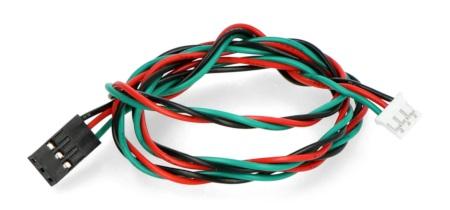 Każdy przewód połączeniowy Gravity jest zbudowany z trzechlinii.