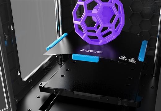 Komora robocza z platformą do drukowania