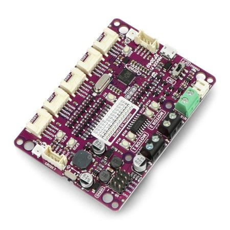 Maker Pi RP2040 posiada 7 złącz Grove przeznaczonych do podłączenia urządzeń peryferyjnych.