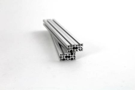 Zestaw profili aluminiowychVORON 0 anodowane srebrne 1515 100mm/200mm.