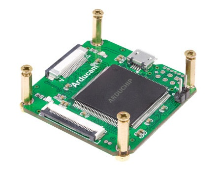 ArduCam USB2 Camera Shield Rev.E - nakładka sterująca do kamer z obsługą MIPI.