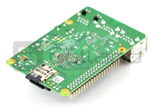 Raspberry Pi model B z kartą micro SD 8GB
